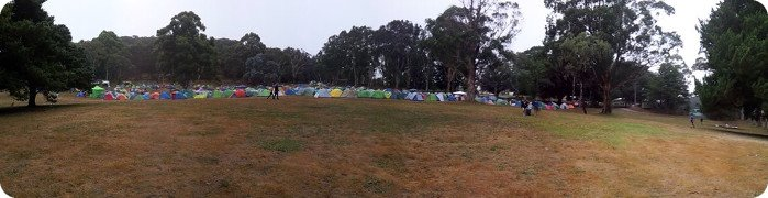 AV2015 Campsite