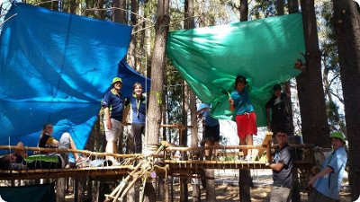 Venturers Living in Trees @ AV2015
